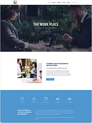 Conference Room & Office Website Design