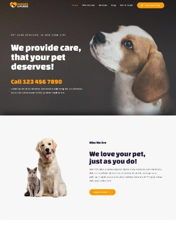 Vet and Animal Care Design